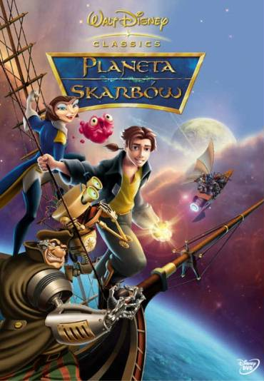 PLANETA SKARBÓW (DVD)