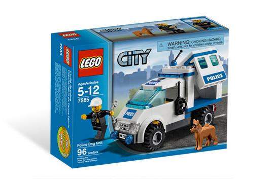 LEGO (7285) Jednostka Policji z Psem