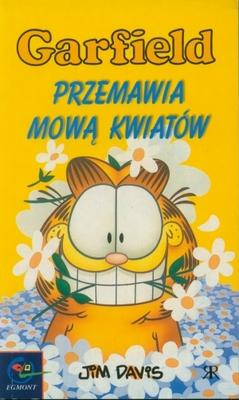 Garfield przemawia mową kwiatów