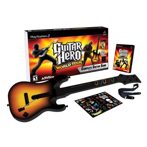 Guitar Hero: World Tour [bundle pack] PS2
