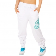 Kani Ladies Mesh Logo sweatpant white