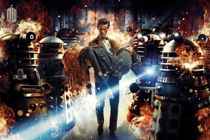 Plakat DOCTOR WHO - Doctor and Amy