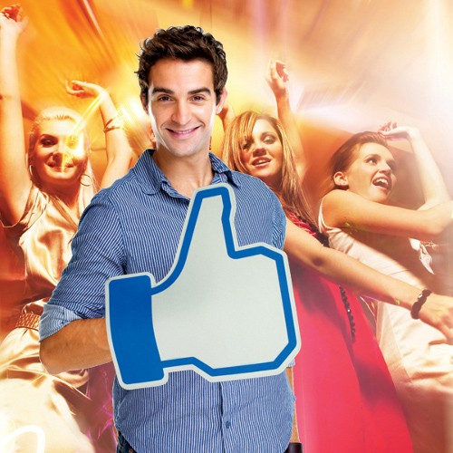 Facebookowa łapa lubię to