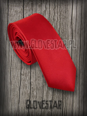 krawat classic czerwony