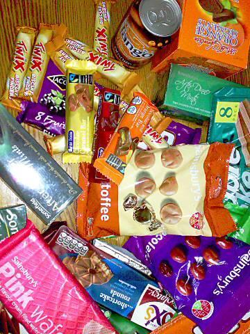 milion pudeł słodyczy