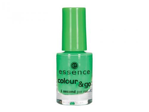 Zielony lakier do paznokci (jaskrawy)