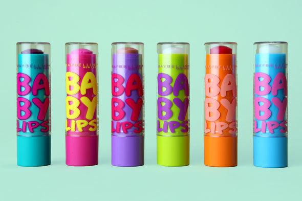 Maybelline baby lips dowolny zapach/kolor