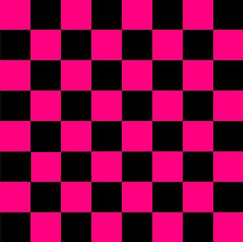 szachownica biało fioletowa (ściany)