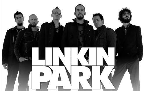Gigantyczny plakat Linkin Park