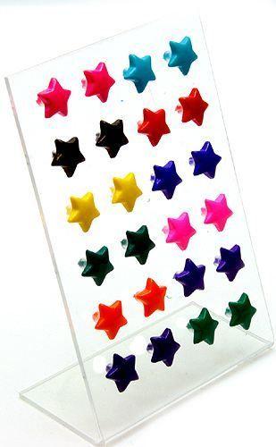 Kolczyki Gwiazdki + małe Gwiazdeczki