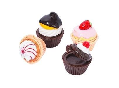 exstra błyszczyki w ksztacie ciastek ; D