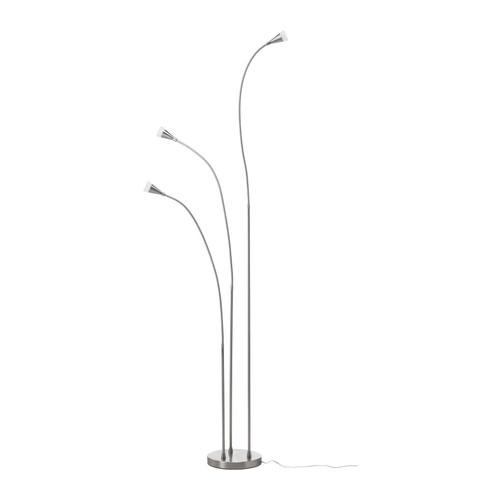 TIVED Lampa podłogowa, niklowano