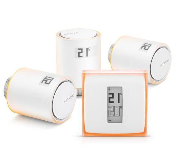 Netatmo Thermostat + 3x Valves
