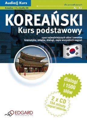 Koreański - kurs podstawowy (Książka + 2 x Audio CD)