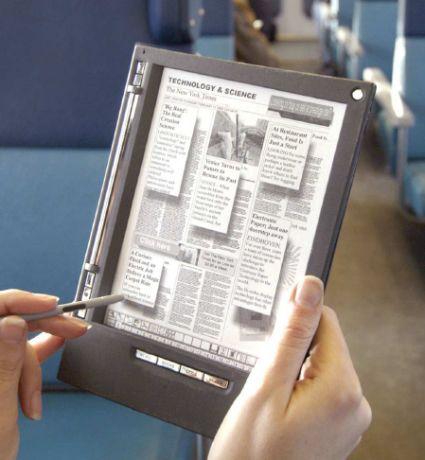 e-papier, czytnik