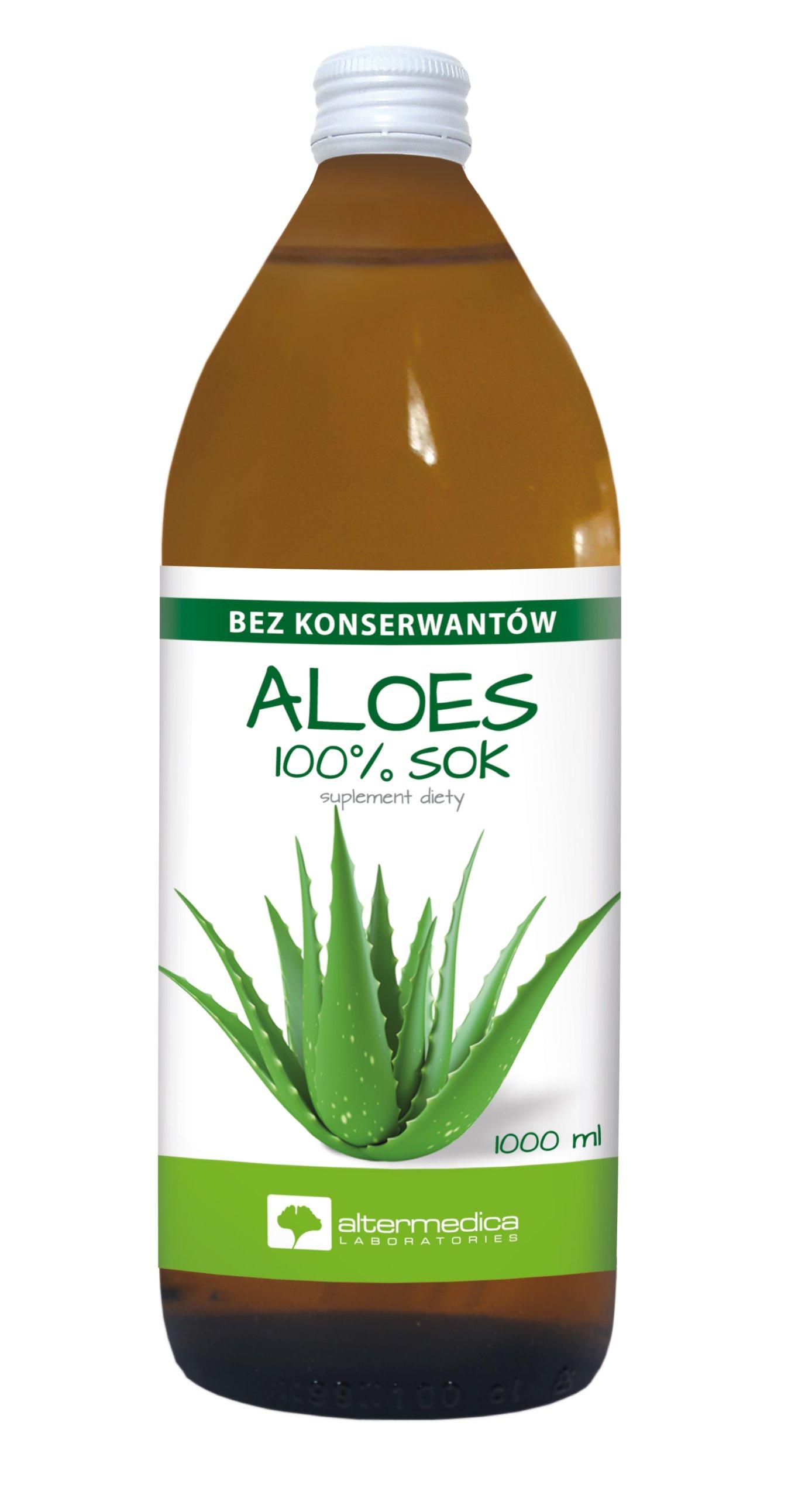 Sok aloesowy 100%