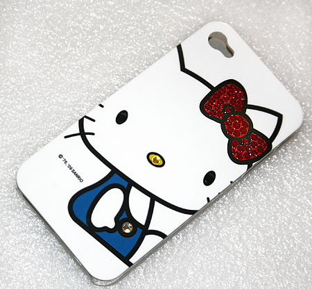 Panel iPhone4 Hello Kitty Swarovski