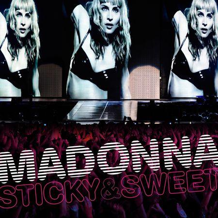 Płyta Madonny Sticky and sweet tour