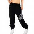 Kani Ladies Mesh Logo Sweatpant Black
