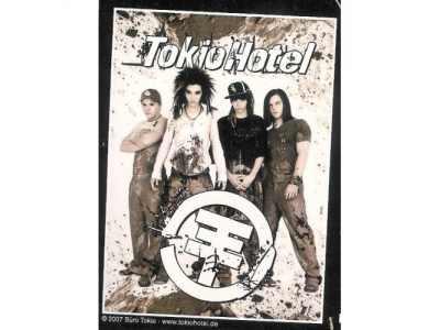 Cieplutki kocyk Tokio Hotel