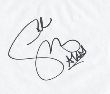 Autograf Seleny Gomez ;]