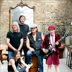 Bilet na koncert AC/DC