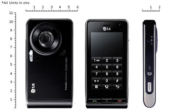 telefon LG KU990