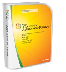 Microsoft Office 2007 PL - Home & Student BOX