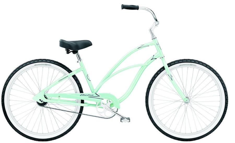 Rower miejski kolorowy lub w jakiś wzór