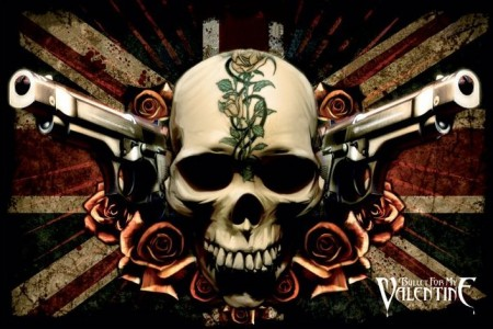 Bullet For My Valentine (Guns) - plakat