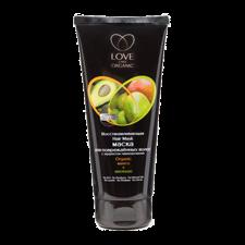 Love2MixOrganic- Maska Regeneracyjna - Do Włosów Zniszczonych Z Efektem Laminowania - Mango I Awokado