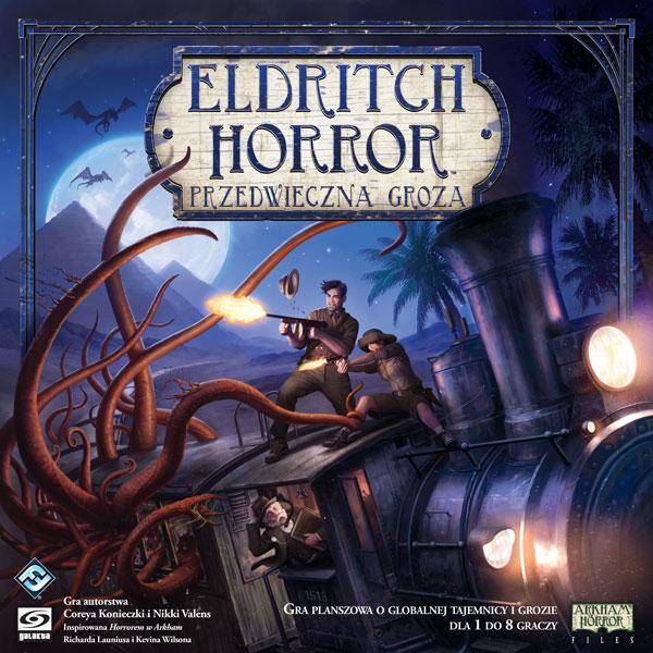 Eldritch Horror - Przedwieczna groza- planszówka