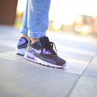 Buty Air Max 90 Essential Black/Violet Frost