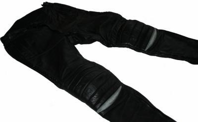 HEIN GERICKE spodnie skórzane CZARNE - Takai - 50