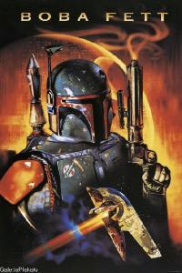 Star Wars Gwiezdne Wojny Boba Fett plakat 61x91,5