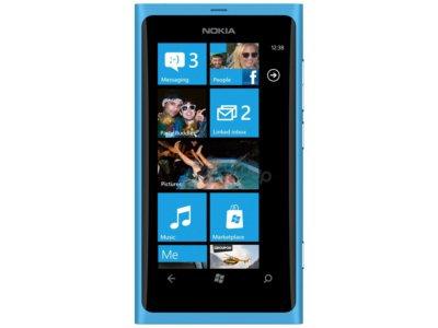 Nokia LUMIA 800 niebieska