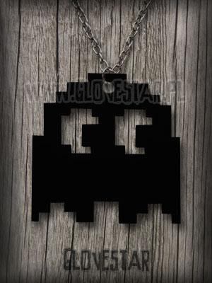 Naszyjnik z Pac Manem
