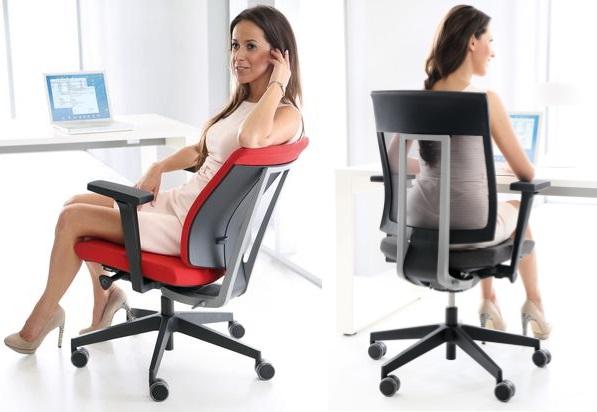 Fotel biurowy dobry na kręgosłup