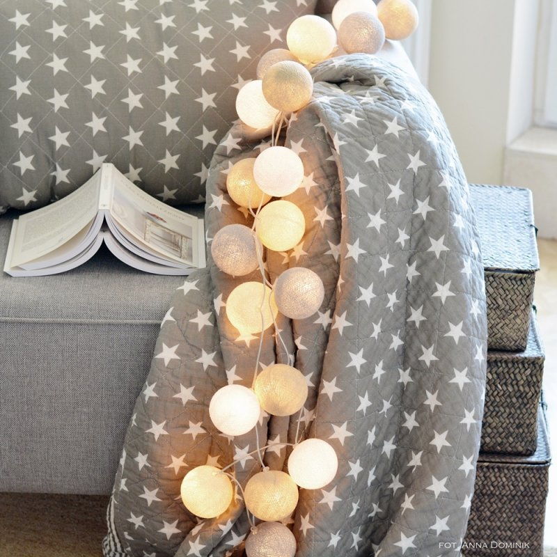 Cotton Ball Lights 20 kul