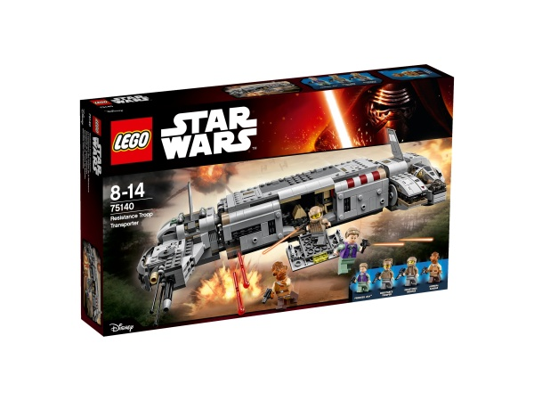 Lego Star Wars Transport Ruchu oporu