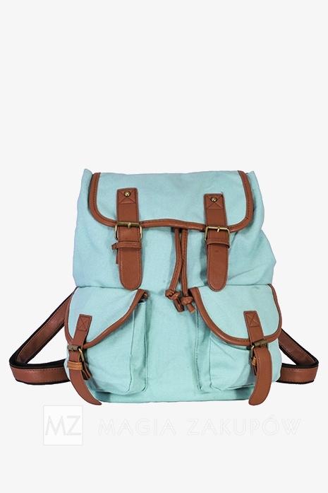 Plecak miętowy