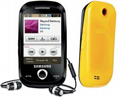 Komórka Samsung Corby