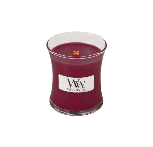 Świeca zapachowa mała WOODWICK - Black Cherry