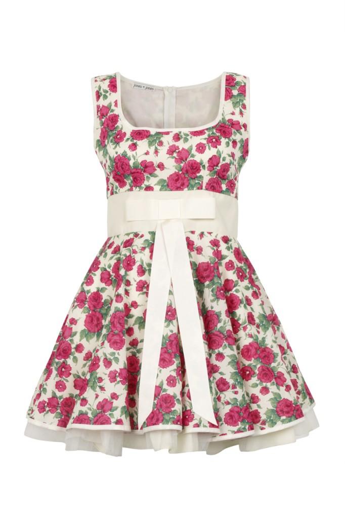 Jones + Jones Phoebe Dress in Liberty Rose Print