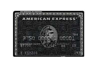 Black Centurion - Karta Kredytowa