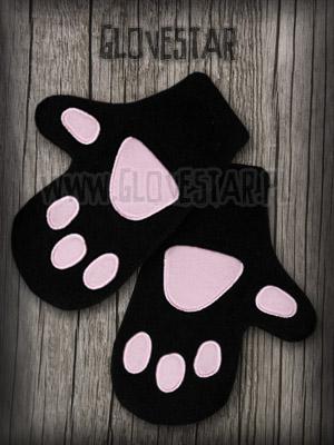 Rękawiczki na zimę Kocię Łapki :)