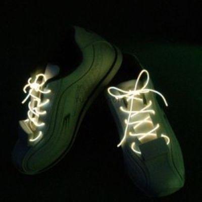 Świecące sznurówki