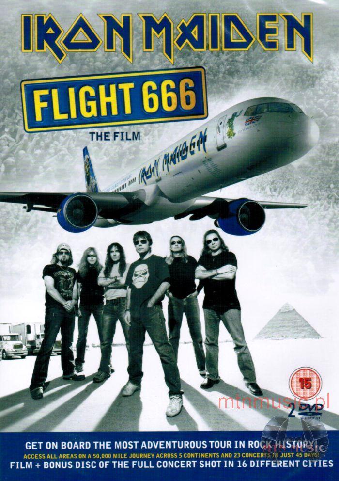 Iron Maiden Flight 666 DVD