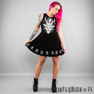 SUKIENKA KILLSTAR - HORNY SKATER DRESS