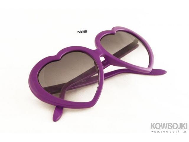 okulary-serduszka na walentynki